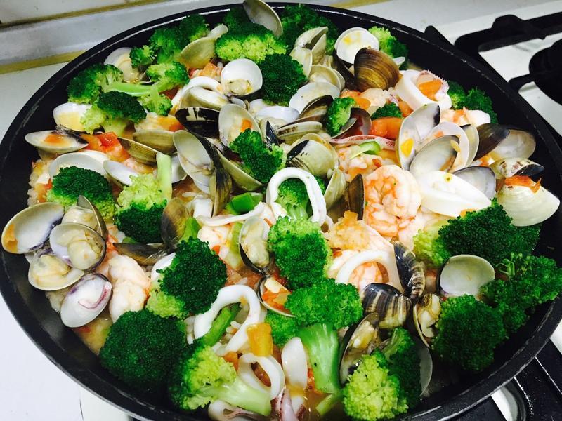 義大利海鮮蕃茄燉飯