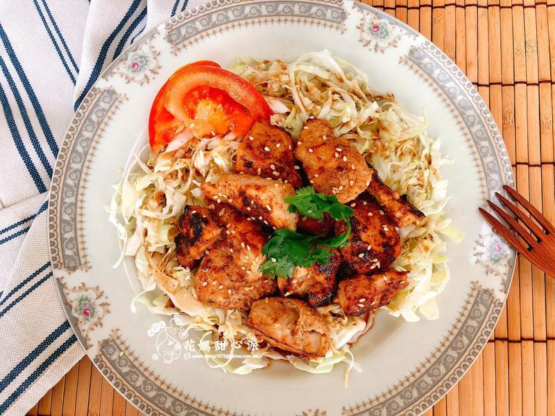 味噌麻醬雞(快速家常菜)