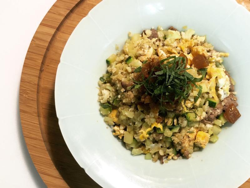 《低碳生銅料理》XO醬紫蘇花椰菜炒飯