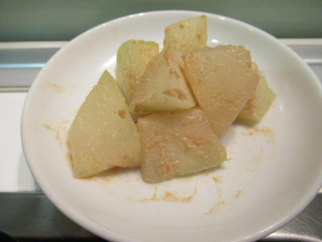 日式芥末拌冬瓜