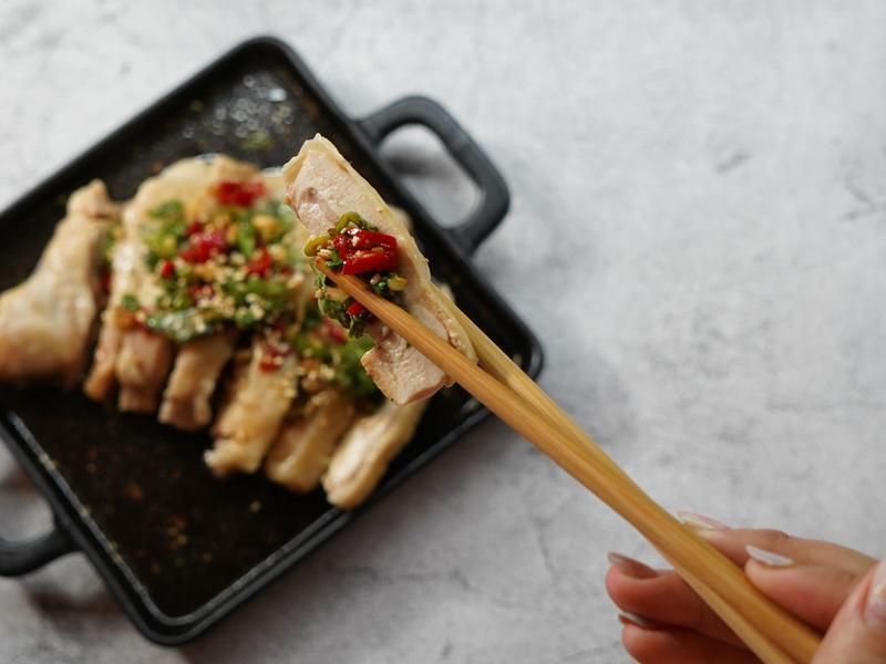 零廚藝必學肉質超Q冷盤口水雞有影片教學