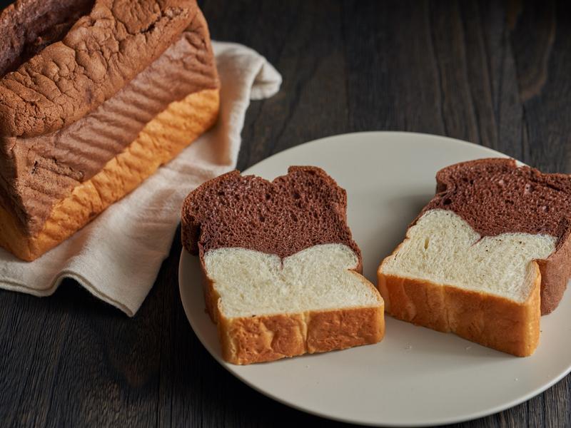 巧克力蛋糕吐司【麥典實作工坊麵包專用粉】