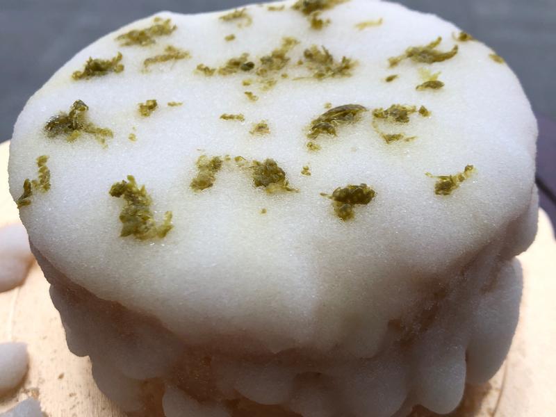 生酮版檸檬糖霜磅蛋糕