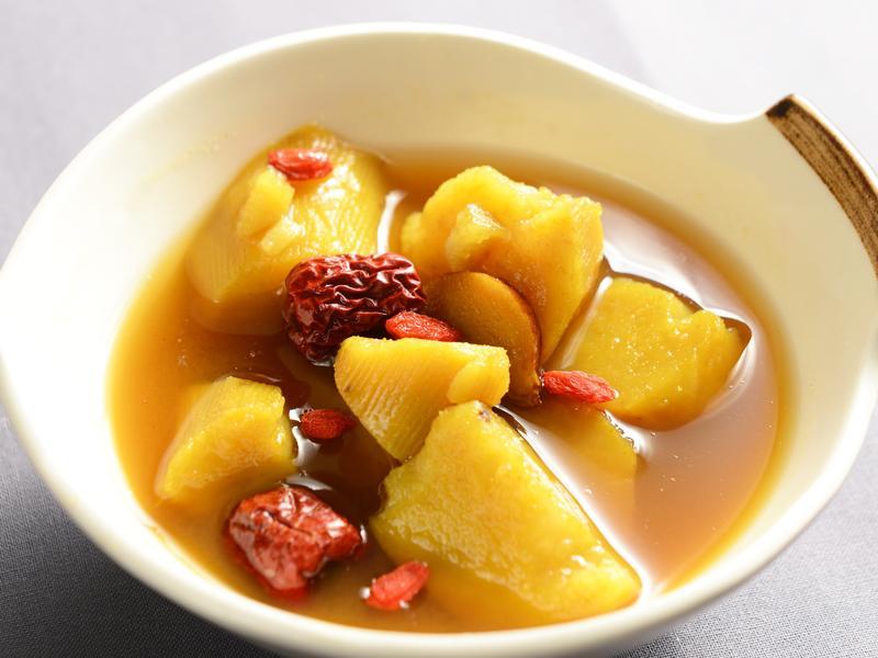 薑黃番薯湯