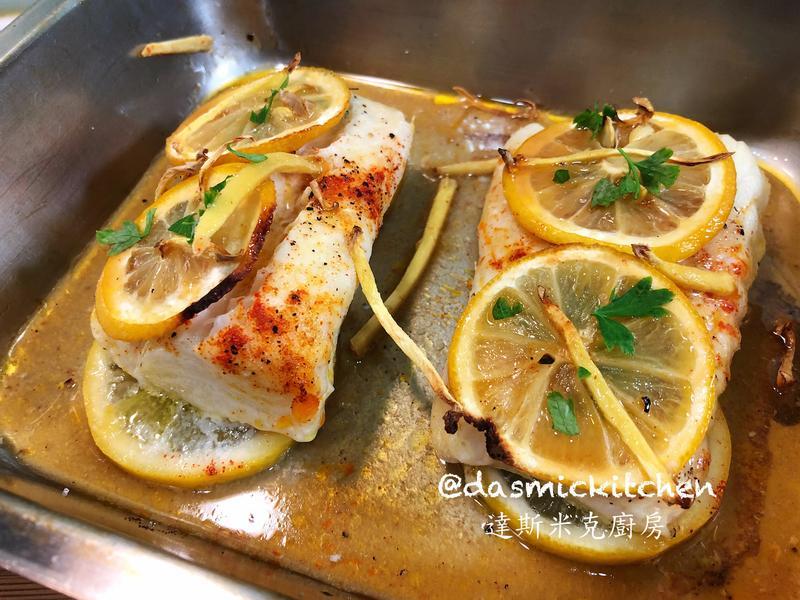 檸檬烤鱈魚排  ~附『實作影片』~
