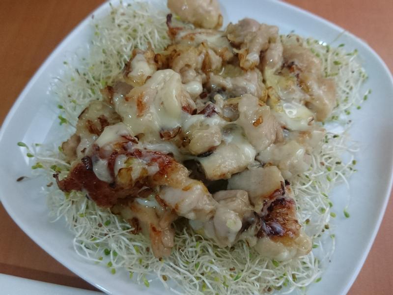 牽絲洋蔥雞腿 (低醣)