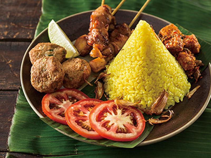 南洋料理達人劉明芳--印尼薑黃飯