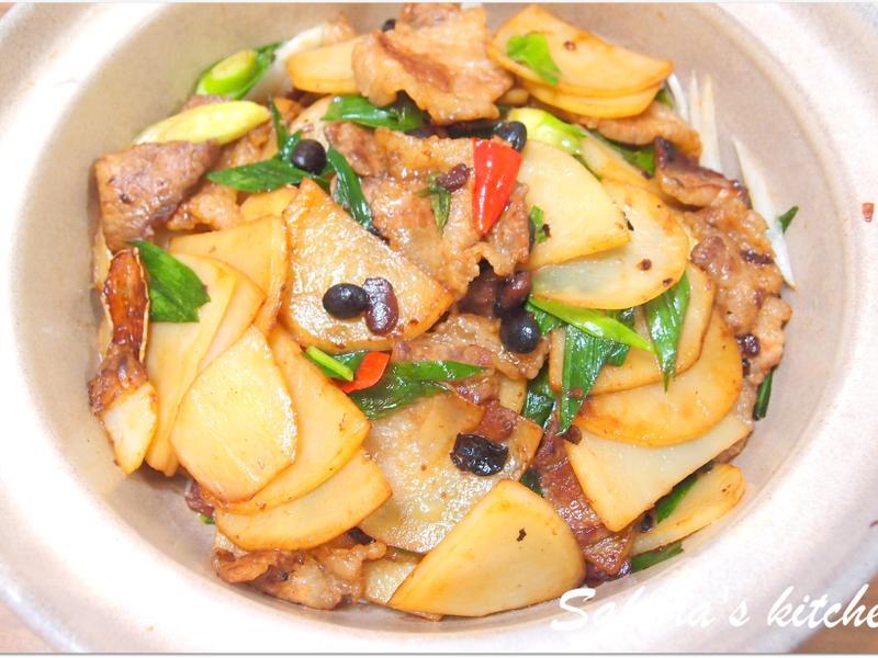 ♥我的手作料理♥ 乾鍋馬鈴薯