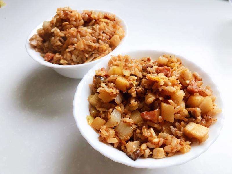 金沙炒飯(鹹蛋炒飯)