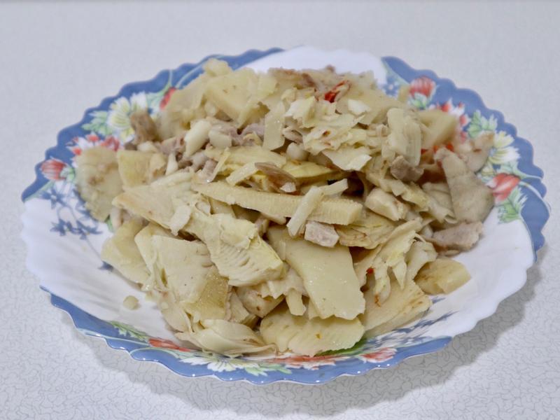 拜拜食材-冬筍炒肉絲