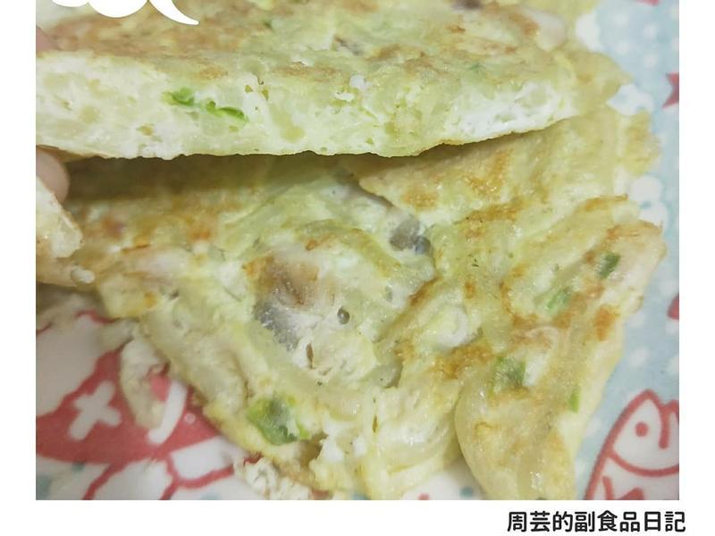 海陸麵蛋煎-副食品-寶寶食譜-手指食物