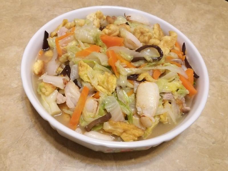 白菜蟹肉羹