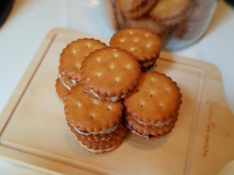 蔓越莓牛軋小圓餅