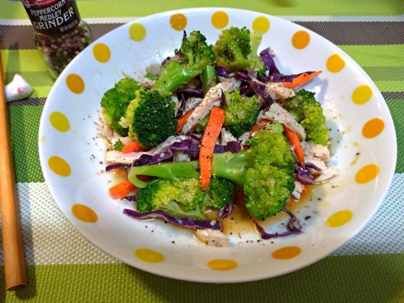 和風溫蔬菜雞胸沙拉