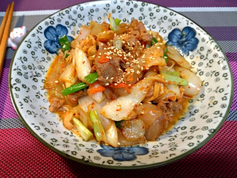 韓式泡菜燒肉
