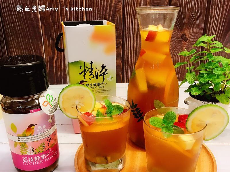 養顏美容蜂蜜水果茶