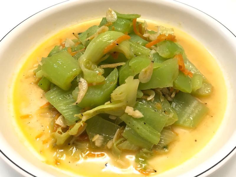 👩🏻🍳蝦米清炒刈菜。