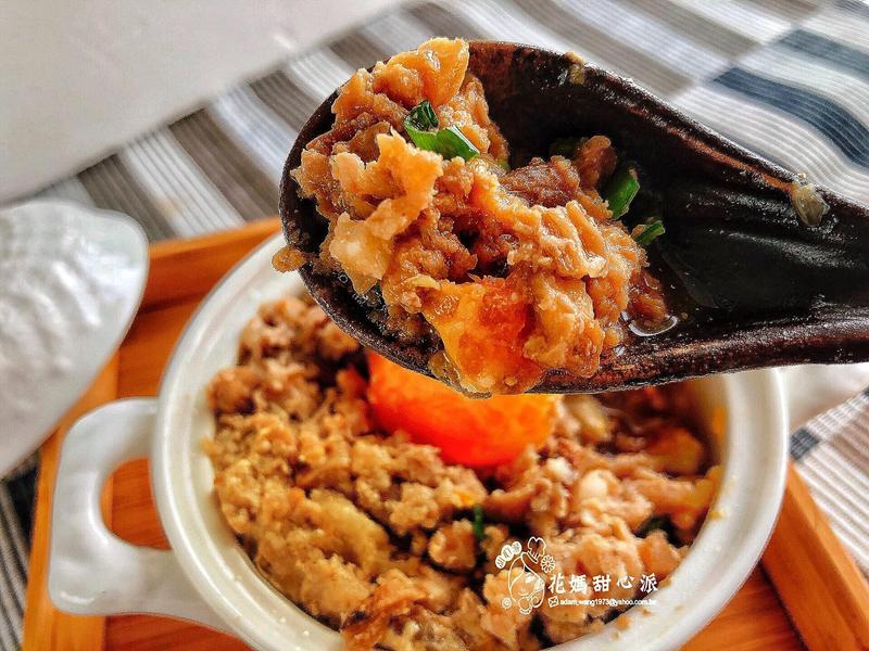 鹹蛋菜脯蒸肉(下飯家常菜)