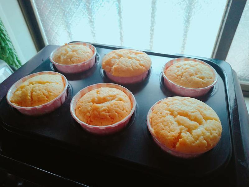 檸檬優格杯子蛋糕