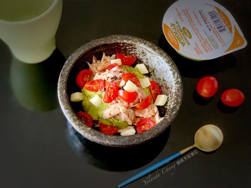 起司酪梨鮪魚沙拉小點
