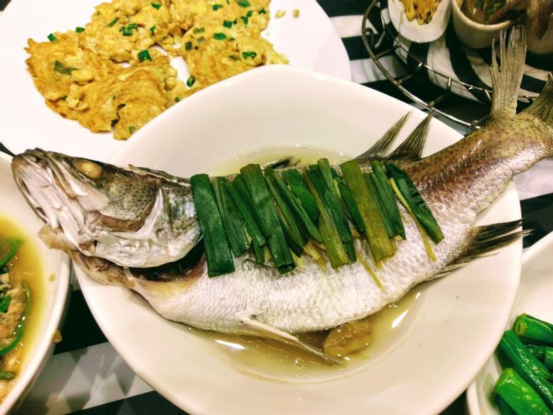 簡單蒸- 清蒸鱸魚