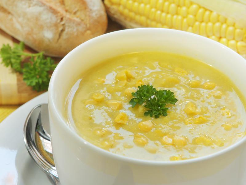 電鍋煮   煉乳玉米濃湯