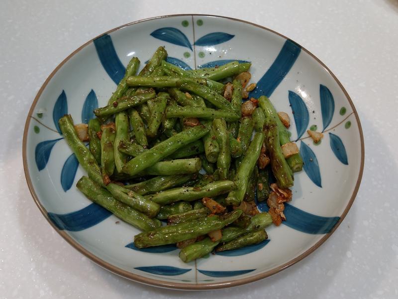 蒜炒四季豆