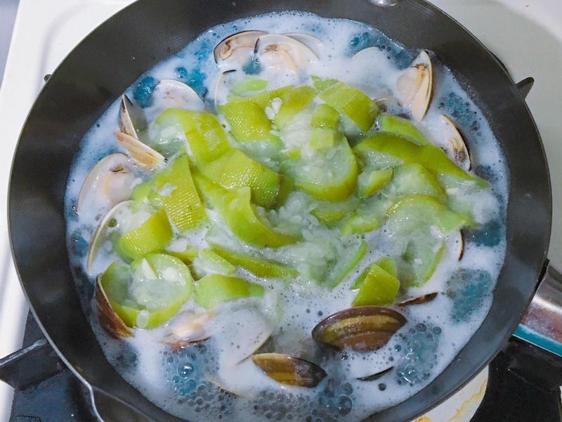 [簡單健康] 鮮味絲瓜蛤蜊