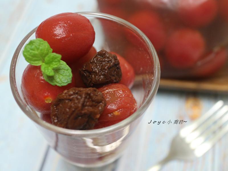 梅釀番茄🍅 ~清涼爽口!