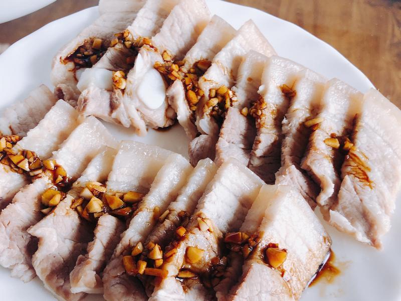 蒜泥白肉(超級簡單)