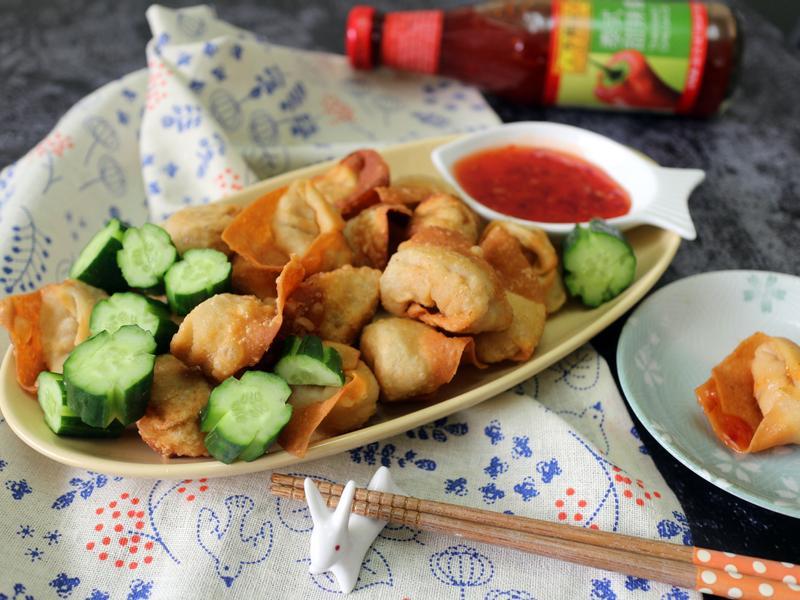 炸鮮蝦餛飩【夏日開胃菜】