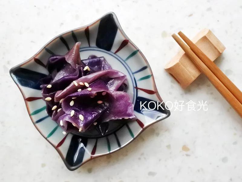 日式味噌拌茄子皮