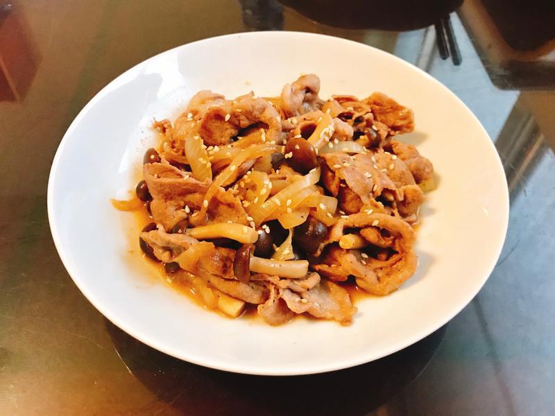 日式菇菇燒肉