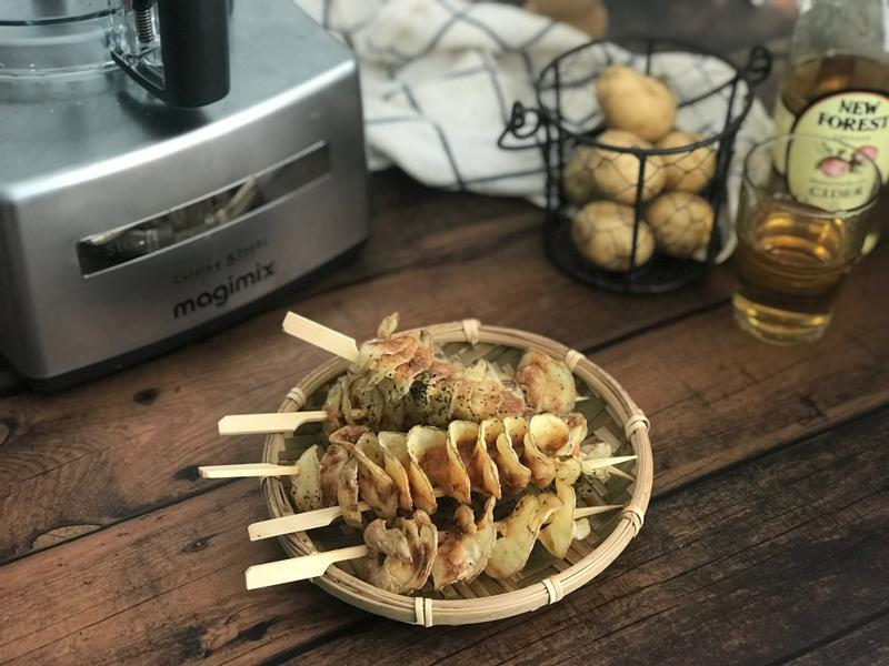 。magimix食譜。馬鈴薯旋風薯片