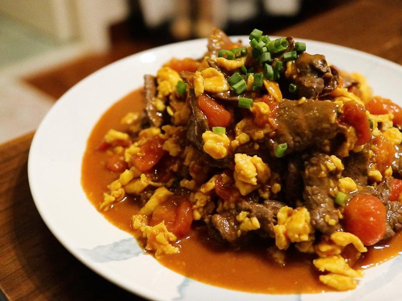 世界上最好吃的蕃茄蛋牛肉?