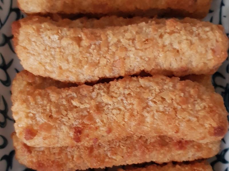 氣炸冷凍鱈魚條