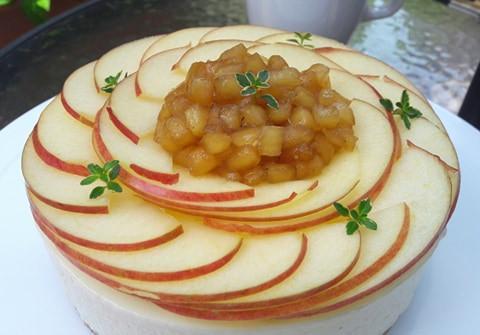 白雪公主蘋果乳酪蛋糕-6吋