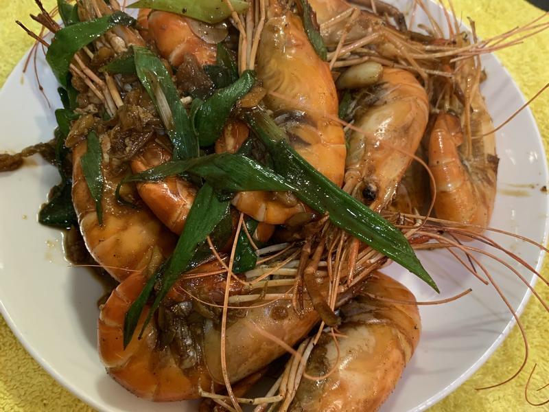 蒜頭胡椒泰國蝦