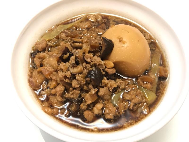 👩🏻🍳滷香菇肉燥+滷蛋
