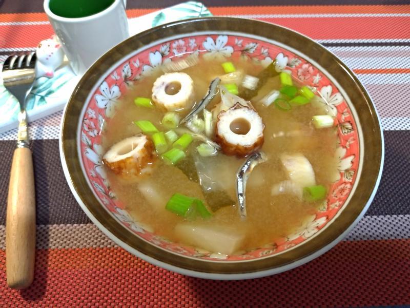 日式竹輪味噌湯