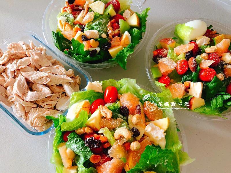 纖蔬百匯雞胸沙拉(輕食料理)