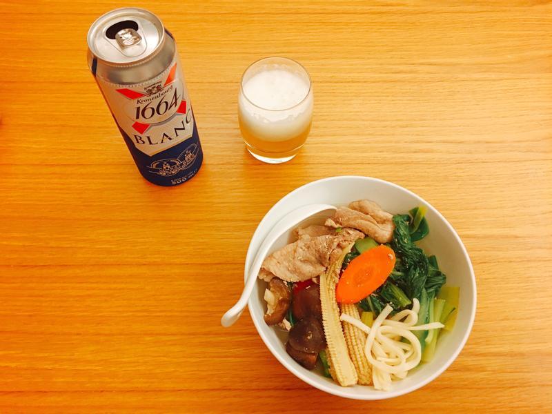 自己煮** 深夜食堂 1-1 湯麵、啤酒