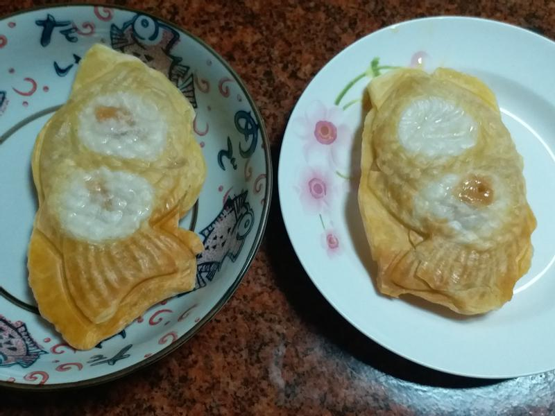 鯛魚燒酥皮湯圓(鬆餅機版)