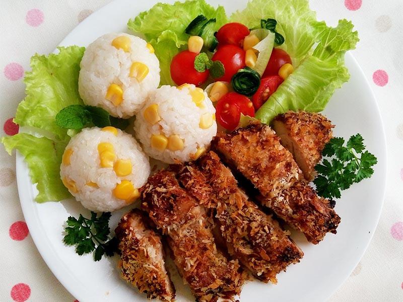 免炸鹹酥雞腿排〞氣炸鍋料理