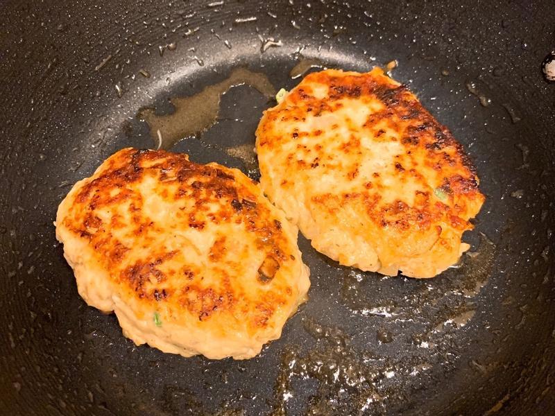 【減肥/瘦身/便當菜】雞肉豆腐漢堡排