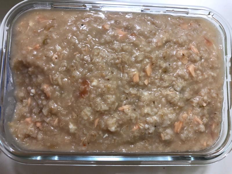 燕麥粥-鮭魚番茄菇菇