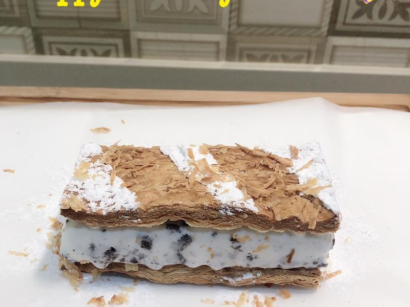 拿破崙冰淇淋蛋糕, yummy ^^