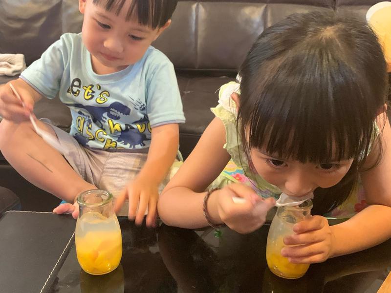 親子時間👩🏻👧🏻👶🏻果凍