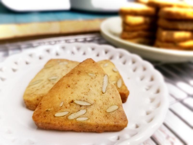 咖啡南瓜籽奶油餅乾~午茶點心