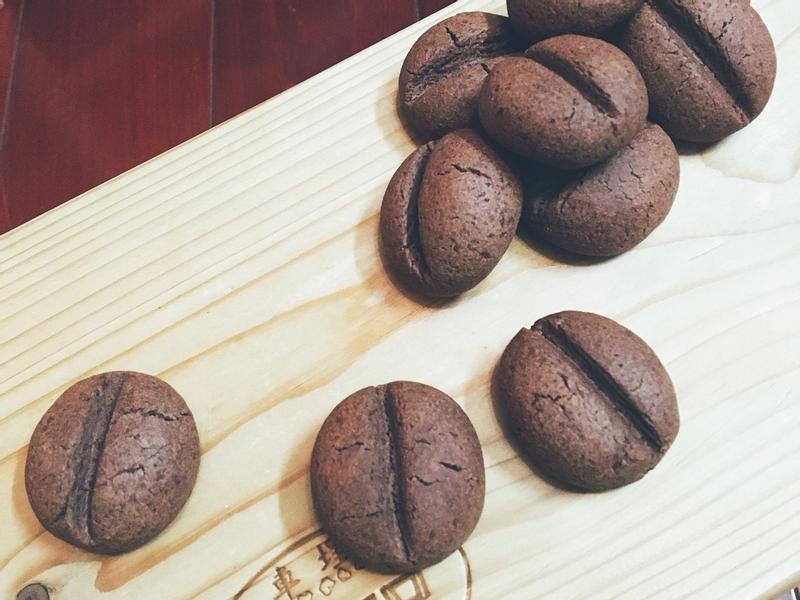 咖啡豆餅乾☕️